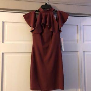 Cold Shoulder Body-con Dress